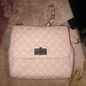 Light Pink Crossbody Bag